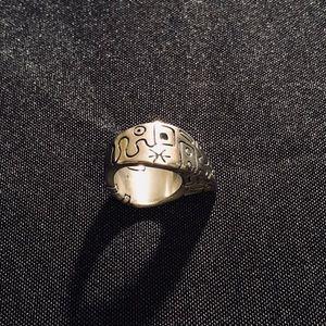 Lisa Jenks Funky Sterling Silver Ring